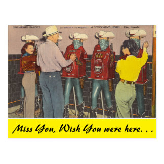 Postal Nevada, uno armó a los bandidos, Elko