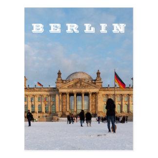 Postal Nevado Reichstag 01,2, BERLÍN (Reichstag im