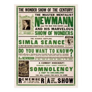 Postal Newmann: El Mentalist principal, 1930