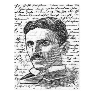 Postal Nikola Tesla