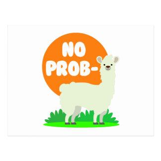 Postal Ninguna Prob-Llama - la ninguna llama del problema