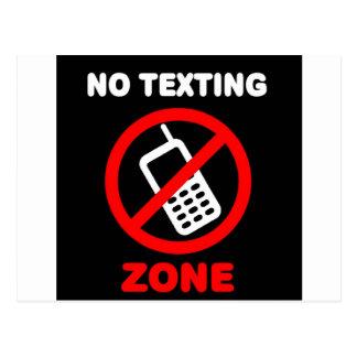 Postal Ninguna zona de Texting