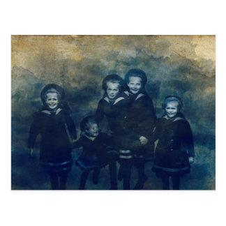 Postal Niños de Romanov