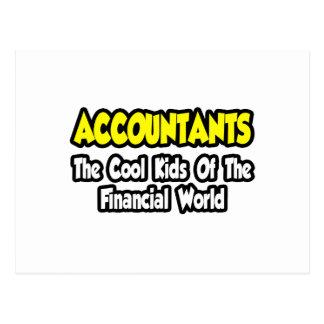 Postal Niños frescos de los contables… del mundo