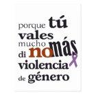 Postal No Más Violencia de Género