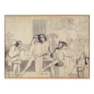 Postal Noche de Reyes, c.1850