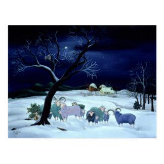Postal Noche santa 1995 de la noche silenciosa