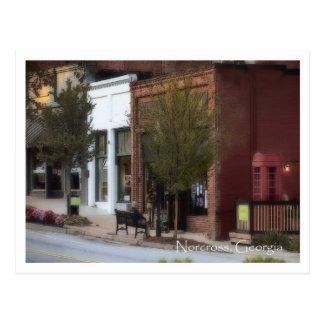 Postal Norcross histórico, GA., Pub del caballo de hierro