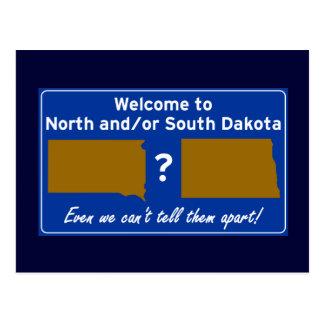 Postal Norte y/o Dakota del Sur