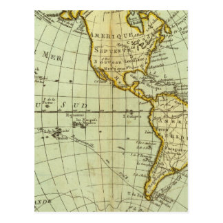 Postal Norteamérica y Suramérica