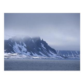 Postal Noruega, Círculo Polar Ártico, Océano Atlántico