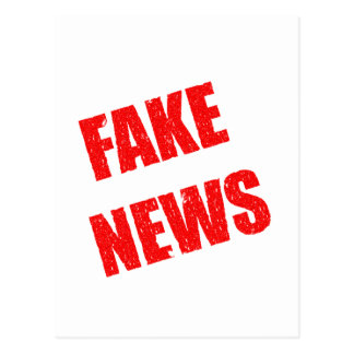 Postal Noticias falsas domina a nuestra sociedad