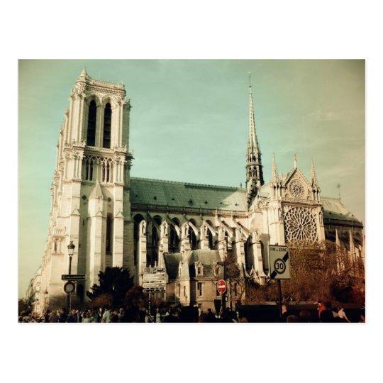 Postal Notre Dame de Paris (France)