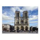 Postal Notre Dame en París