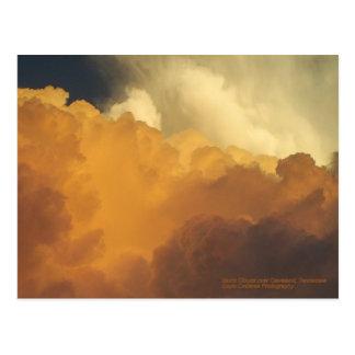 Postal Nubes de tormenta sobre Cleveland, Tennessee