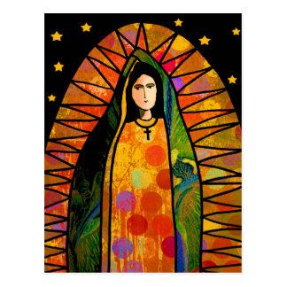 Postal Nuestra señora de Guadalupe