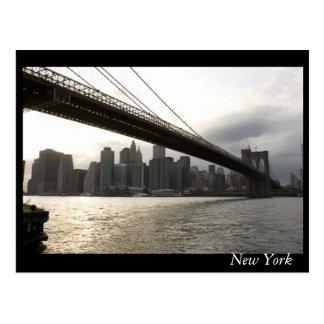 Postal Nueva York