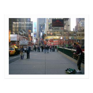 Postal Nueva York conmovedora