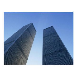 Postal Nueva York, los E.E.U.U. Visión para arriba en las