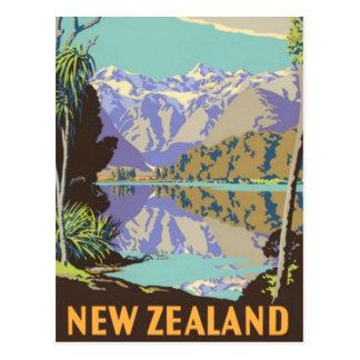 Postal Nueva Zelanda Mountian