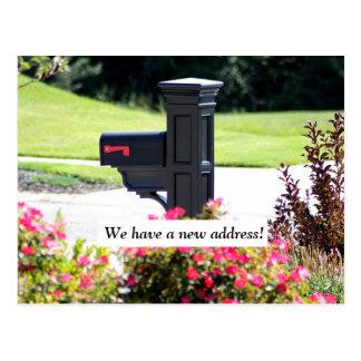 Postal Nuevo buzón de la dirección