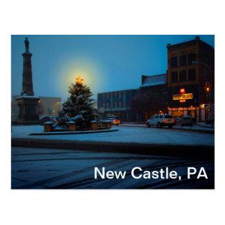 Postal Nuevo castillo, PA