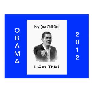 Postal Obama 2012