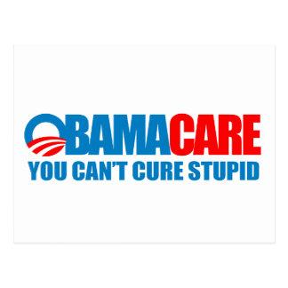 Postal Obamacare - usted no puede curar estúpido