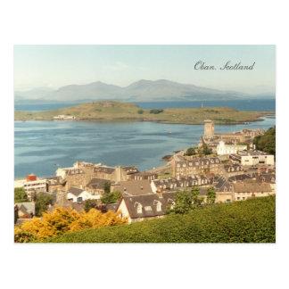 Postal Oban, Escocia (postal)