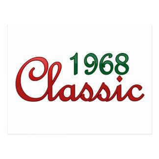 Postal Obra clásica 1968