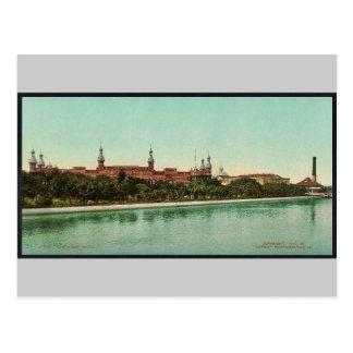 Postal Obra clásica Photochrom del hotel de Tampa Bay