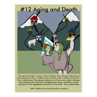 Postal Observe el envejecimiento #12 y la muerte - del