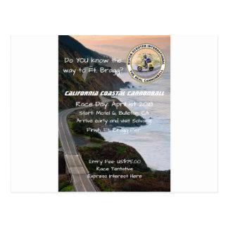 Postal Obús costero de MSILSF California
