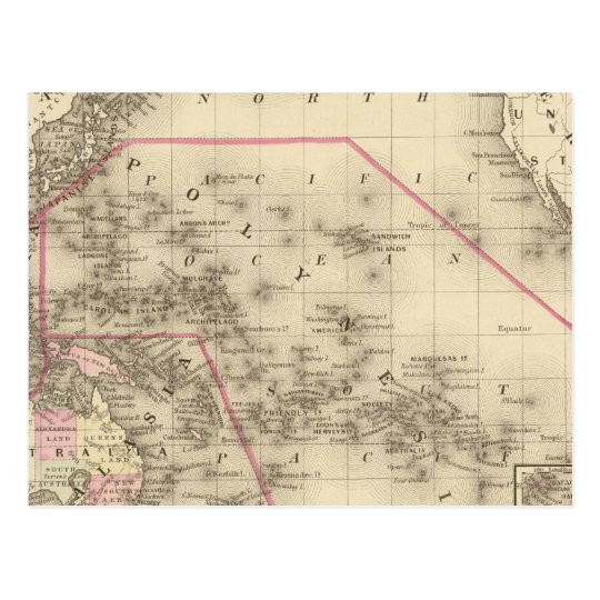 Postal Oceanica, islas de bocadillo