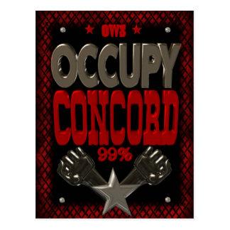 Postal Ocupe el poster fuerte de la protesta 99 de la