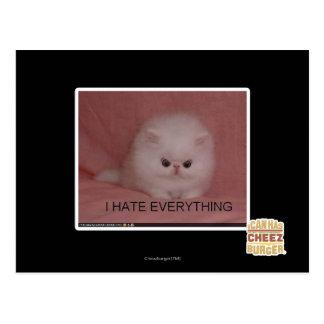 Postal Odio todo
