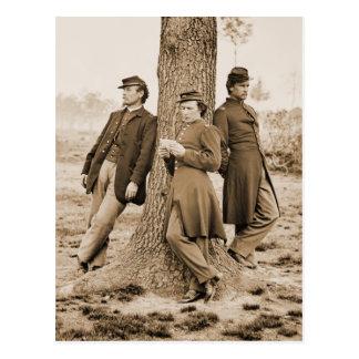 Postal Oficiales de la guerra civil tres