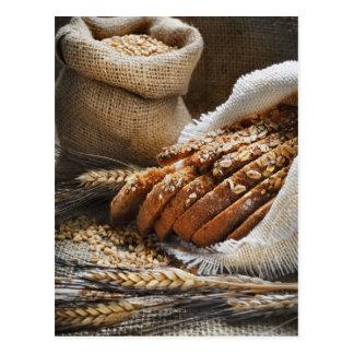 Postal Oídos del pan y del trigo