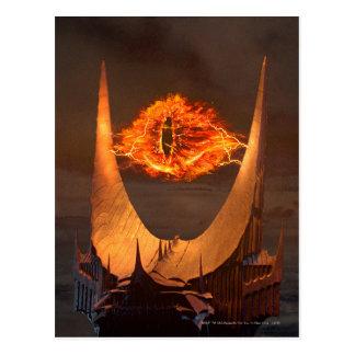 Postal Ojo de la torre de Sauron