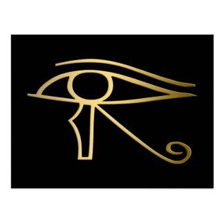 Postal Ojo del símbolo del egipcio de Horus