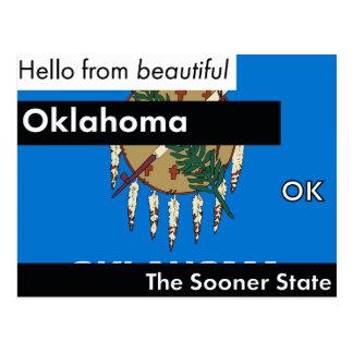 Postal Oklahoma más pronto el estado