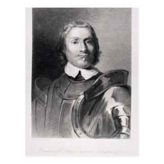 Postal Oliver Cromwell, señor Protector de Inglaterra