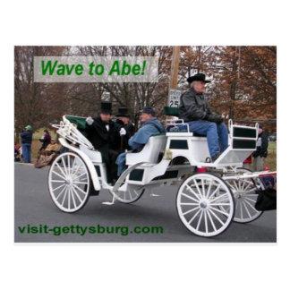 Postal Onda a Abe Lincoln