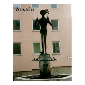 Postal Ópera de Papageno la flauta mágica, Salzburg,