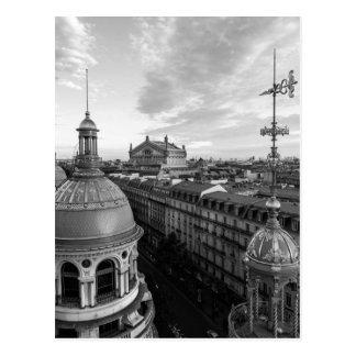 Postal ópera Garnier, París, Francia