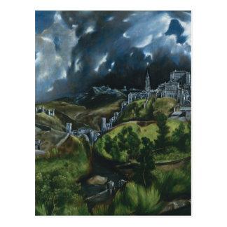Postal Opinión de El Greco de Toledo