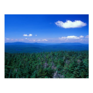 Postal Opinión de la cumbre de Stratton Mountain