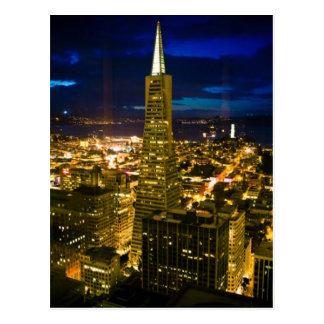Postal Opinión de la noche de San Francisco.