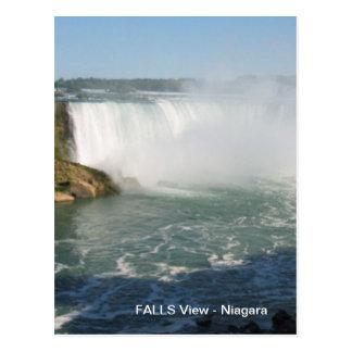 Postal Opinión de las caídas: Niágara los E.E.U.U. Canadá