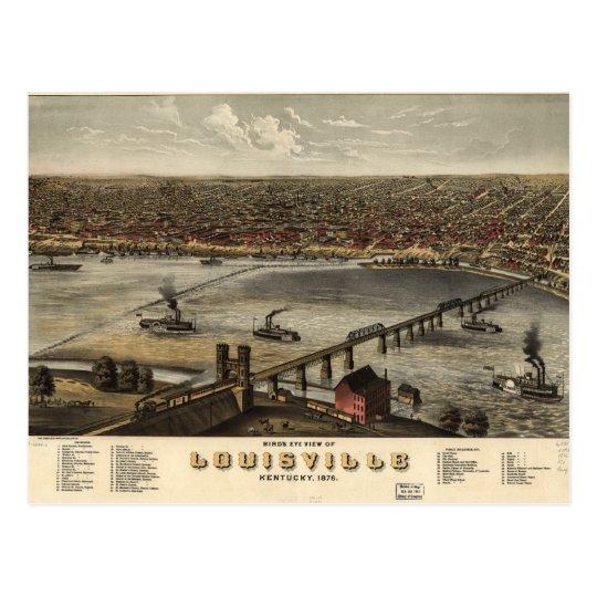 Postal Opinión de ojo de pájaros de Louisville